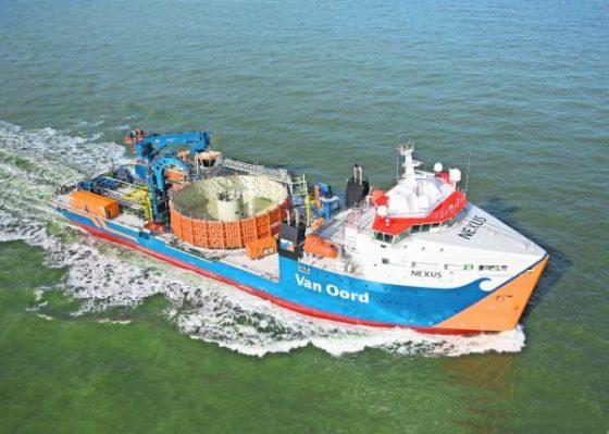 Van Oord legt exportkabels offshore windparken nu zelf