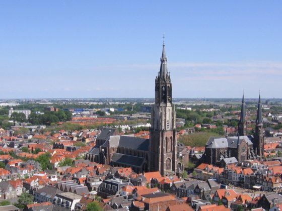Kelderplannen Nieuwe Kerk Delft bij Raad van State