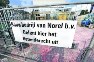 Gemeentelijk projectteam De Lawei volhardt: 'Bouwer Van Norel deed niet wat was afgesproken'