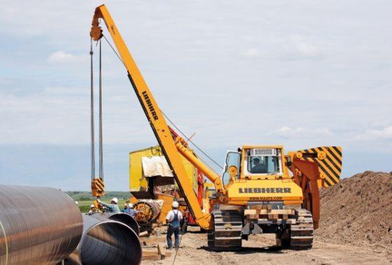 posatubi  pipelayer-posatubi Nws-bauma-pijpenlegger-liebherr-rl64-600-560x378