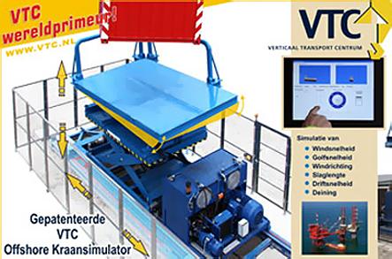 VTC wint innovatieprijs met kraansimulator