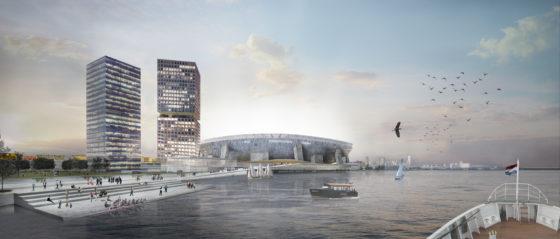 Nieuw stadion moet impuls geven aan Rotterdam Zuid