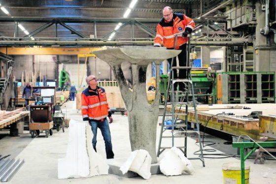 Software bepaalt vorm van betonconstructie