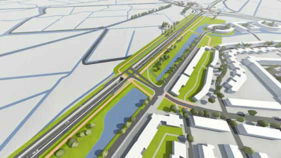 Akkoord over aanleg Ringweg Leiden