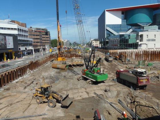 Zomerblog: bouwputten in hartje Utrecht