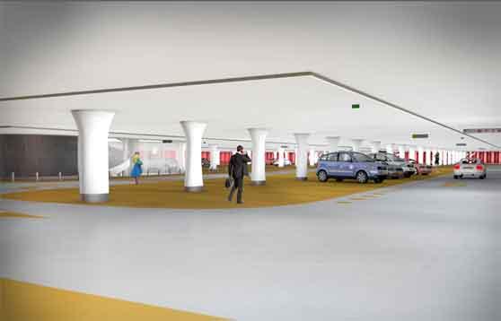 Jaarbeursplein lastige plek voor parkeergarage