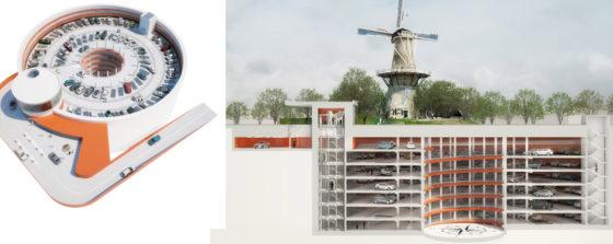 Betonstort op recorddiepte in Leiden