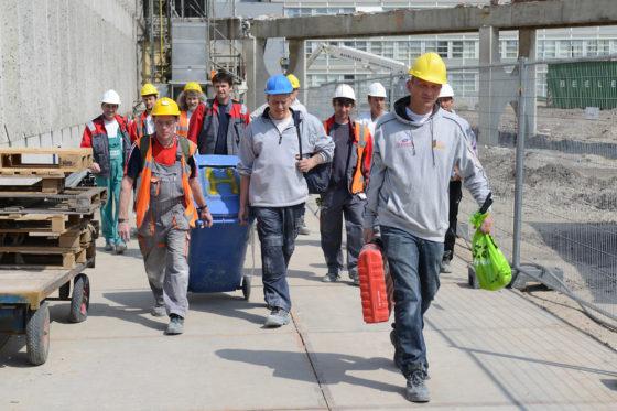 'Willen we meer of minder buitenlanders op de bouwplaats?'