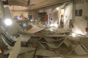 Bouwfout oorzaak instorten ziekenhuisplafond