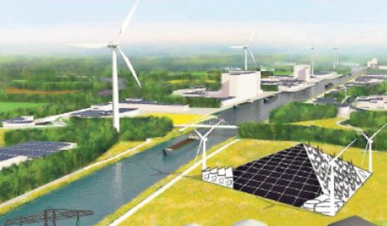 Stedendriehoek als 'groene fabriek'