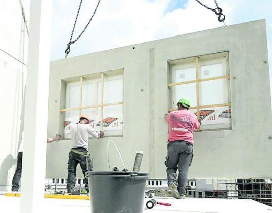 Prefab betonnen casco's nauwkeurig op maat geleverd met binnenwanden