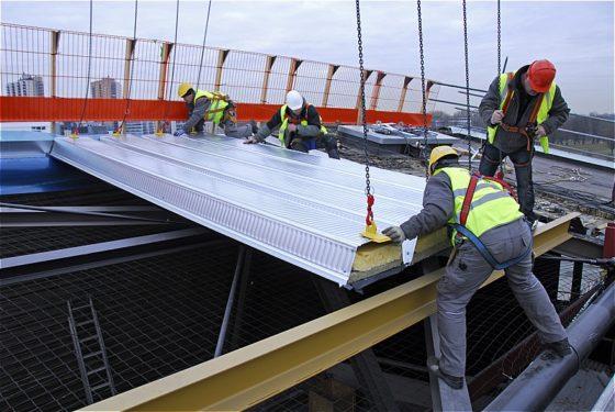 Nieuw dak voor Ahoy Rotterdam