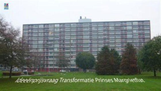Transformatie oude flat in prijsvraag
