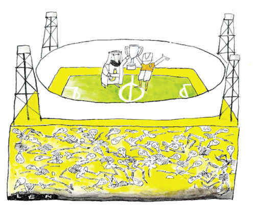 Veilig kampioenschap voetbal in Qatar?
