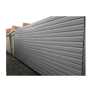 Rabatdelen gevel van aluminium