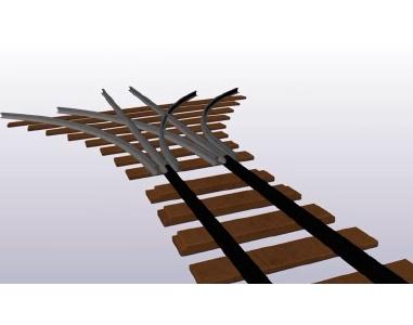 Nieuwe wissel moet verkeer op spoorweg veiliger maken