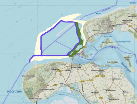 Valmeer voor Brouwersdam kan windstroom bufferen