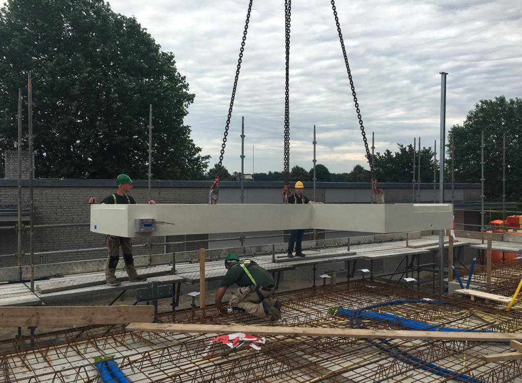 Inhijsen prefab betonplaten