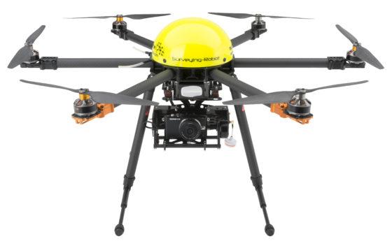 Idiot proof drone werkt ook bij storm