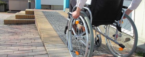 Toegang voor mens met handicap beter