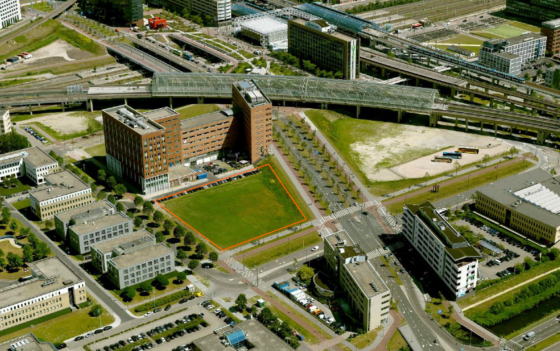 Amsterdam start met woningbouw in Sloterdijk