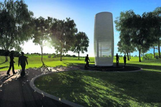Smog Free Tower: oplossing of symboliek?