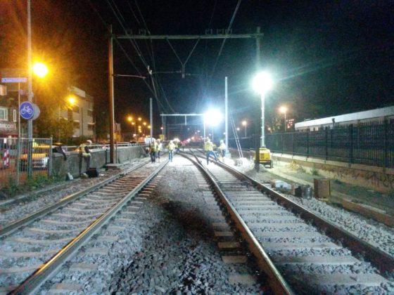 Complex spoorproject van anderhalf jaar in 25 weken gereed