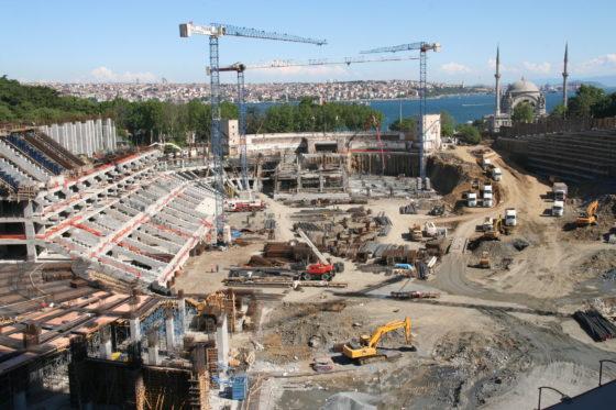 XL Lezersfoto: Stadion met uitzicht