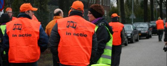 FNV Bouw gaat op 18 maart staken voor eerlijk pensioen