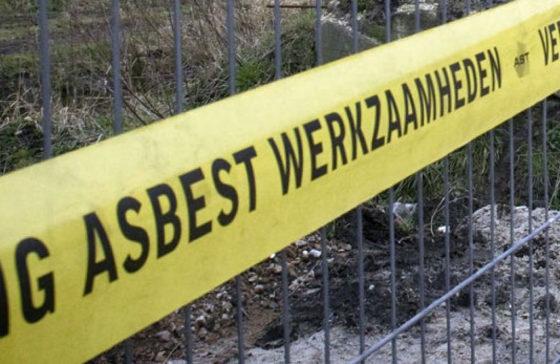 Taakstraffen en boete voor illegale asbestsanering