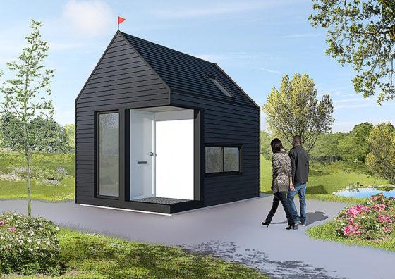 Tiny House voor opvang asielzoekers