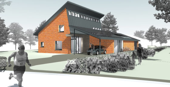 Energieproducerende woning gebouwd in Sterksel