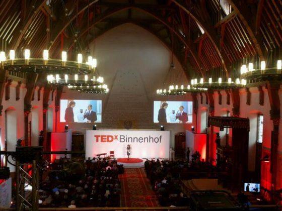 Vette 'shit' en smartpolders op TEDxBinnenhof