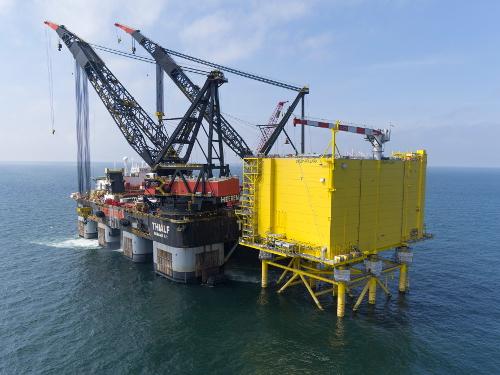 Tennet installeert 'stopcontact' op zee