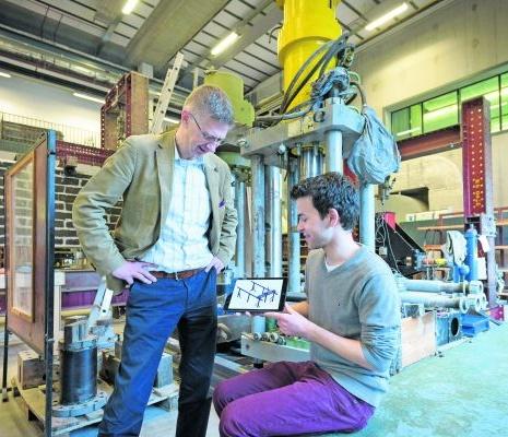'We willen het 3D-printen van beton begrijpen'