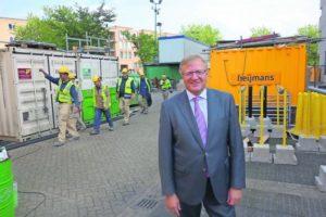 Heijmans-ceo Ton Hillen: 'Er is een positieve vibe in het bedrijf.'