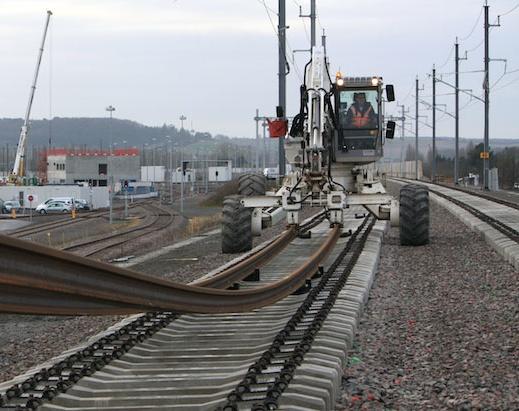 Vinci levert spoorlijn in recordtempo op