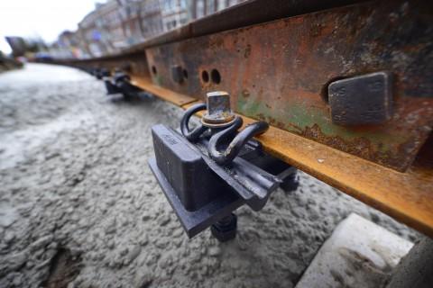 Tramspoor raakt minder beschadigd bij vervanging