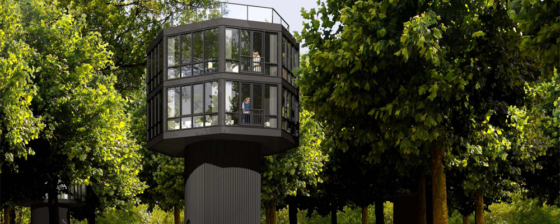 Treehouse Resort: luxe boomwoningen in de Achterhoek
