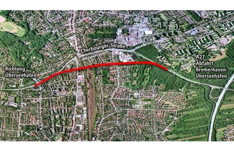 Tunnel Bremerhaven voor Hochtief en Züblin