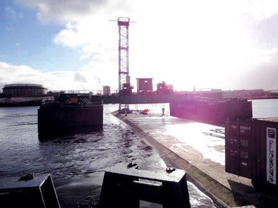 Zinktunnel van Volker en BAM op bodem van Tyne