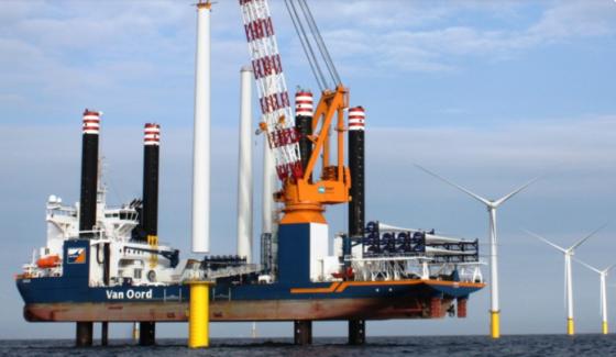 Van Oord neemt offshore windactiviteiten Bilfinger over