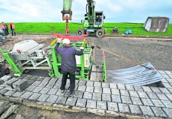 Meer stevigheid en flexibiliteit voor IJsselmeerdijk