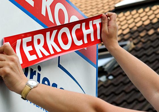 Voor het eerst sinds jaren minder nieuwe woningen verkocht