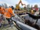 Verwijdering damwandplanken jirnsum 80x59
