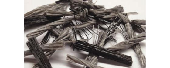 Synthetische vezels vervangen staalwapening