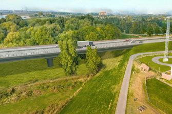 A15 naar Duitsland loopt jaar vertraging op door stikstof