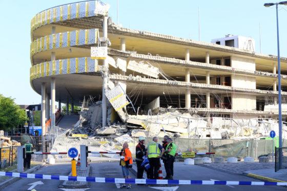 Onderzoek instorting parkeergarage Eindhoven afgerond