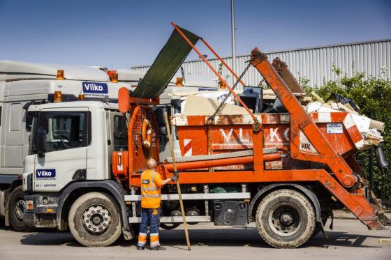 Vorm Bouw en Vliko gaan afval op bouwplaats te lijf