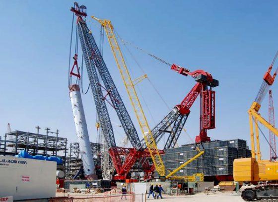 Eerste hijsklus voor ALE gigant SK-90